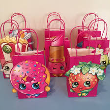 where to buy goodie bags shopkins party favor bags 18 per 8 shopkins birthday party