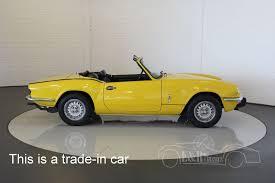 collectorscarworld com 1978 triumph spitfire 1500 tc cabriolet