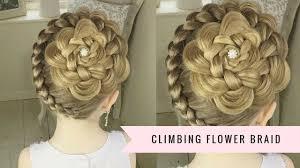 hair flower the climbing flower braid by sweethearts hair
