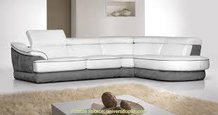 canape angle bi matiere fabuleux canapé d angle gris et blanc tissu artsvette
