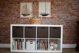 ikea expedit bookcase meets target itso bin home stories a to z