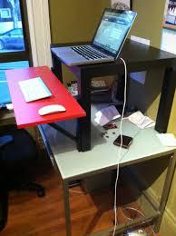 Lifehacker Ikea Standing Desk by Rising Desk Ikea Muallimce