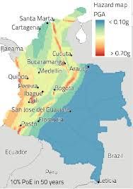 earthquake hazard map fault data set left earthquake catalogue centre and earthquake