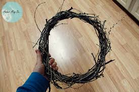how to make wreaths how to make a wreath out of sticks and it s free may be