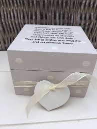 in memory of gifts personalised personalised chic keepsake box memory box gift for friend