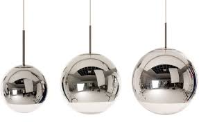 Sphere Ceiling Light Mirror Pendant Light Hivemodern