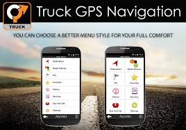 truck gps navigation by aponia android apps on google play