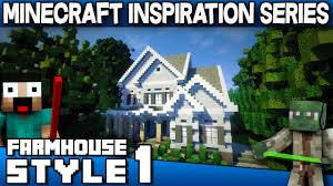 minecraft farmhouse style house keralis inspiration series