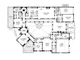 Floor Plans With Courtyard Eplans Spanish House Plan U2013 Eclectic Spanish Design With Beautiful