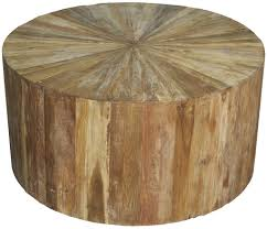 Large Round Coffee Table by Noir
