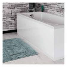 Tongue And Groove In Bathrooms Tongue U0026 Groove Design White Mdf 1700mm Front Bath Panel Ebay