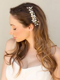 bridal hair clip bridal hair accessories los angeles in beautiful veils bridal hair