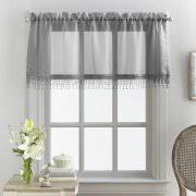 Kitchen Curtains Walmart by Gray Kitchen Curtains Walmart Com