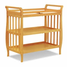 Sleigh Changing Table Medium Wood Changing Tables Combos And Trays Free Shipping