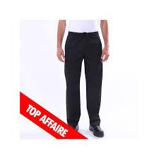 pantalon cuisine noir pantalon de cuisine noir