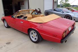 ferrari coupe convertible just listed twin turbo 1980 ferrari 400i convertible conversion