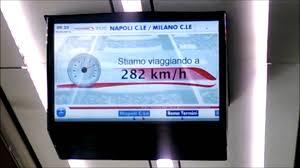 Italy At High Speed By by Frecciarossa 300 Km H Italy Train High Speed Rail Trenitalia Alta