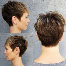 best highlights for pixie dark brown hair 18 simple easy short pixie cuts for oval faces short haircuts 2018