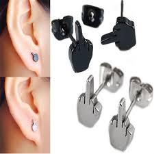 stud for ear best 25 mens ear studs ideas on earring tutorial