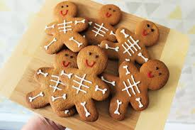 spooky halloween gingerbread men emma plus three