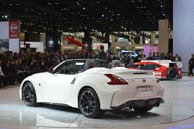 nissan 370z nismo wrapped nissan 370z nismo roadster concept makes world debut at 2015