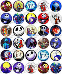 nightmare before christmas cake decorations 30 x the nightmare before christmas edible rice wafer paper