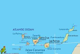 Canary Islands Map Islas Canarias