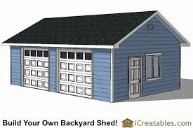 24 x 24 garage plans shed roof garage plans inspirational diy 2 car garage plans 24 26