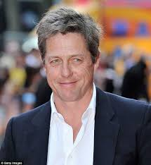 looking with grey hair hugh grant is the latest silver fox should he worry about hair loss