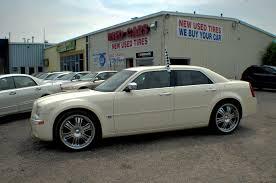 2006 chrysler 300c hemi navigation white sports sedan use car