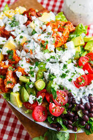 bbq chicken cobb salad with cilantro lime ranch dressing recipe