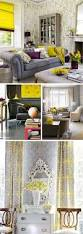 Yellow And Gray Bedroom by