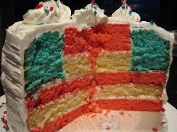 Flag Cakes Have A Happy Fourth Of July U2026 And Some Flag Cake I Sing In The