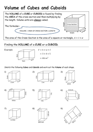 volume of cuboids and triangular prisms by pebsy teaching