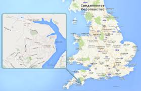 England On Map Salcombe Has Become One Of The Most Expensive Areas Of England Ee24