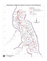Map Of Phillipines Philippine History Source Materials Active Faults And Trenches In