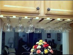 Wine Glass Holder Under Cabinet Wine Glass Rack Under Cabinet Youtube