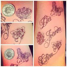 elgallotattoo letter letters letters daughters names flickr