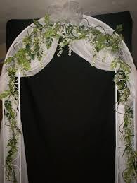 wedding arches michigan wedding ideas stunning organza fabric wedding decoration picture