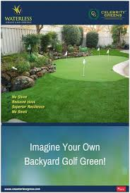 backyards compact 15 x 28 5 hole pro backyard or indoor putting