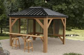 roof gazebo u0026 heart touching ideas of gazebo roof or cover