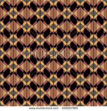 traditional georgian ornament colored rhombus stock vector