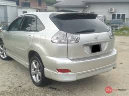 lexus harrier 2005 2010 toyota harrier for sale in malaysia for rm67 800 mymotor