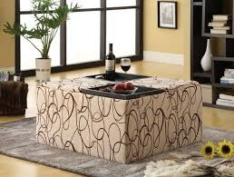 ottoman with patterned fabric catchy patterned storage ottoman with patterned storage ottoman