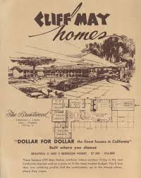 cliff may house plans claremont modernism cliff may homes brochure mid century modern