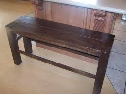 bench bar height bench ana white big ur counter height bench diy