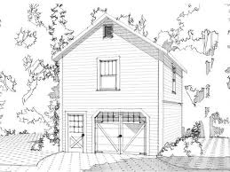 how many square feet is a 1 car garage 1 car garage loft plan 073g 0006 dream little house pinterest