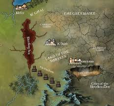 Essos Map The Far Far East Of Essos Work In Progress By Klaradox On Deviantart