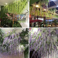 wisteria potted dried u0026 artificial flowers ebay