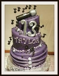 microphone music birthday cake swirly cakery cakes n things